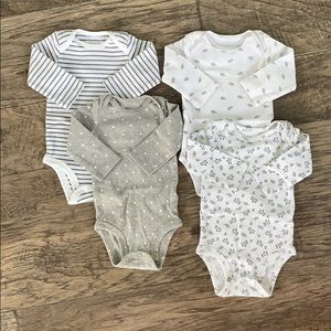 Simple joys by Carters long sleeve set